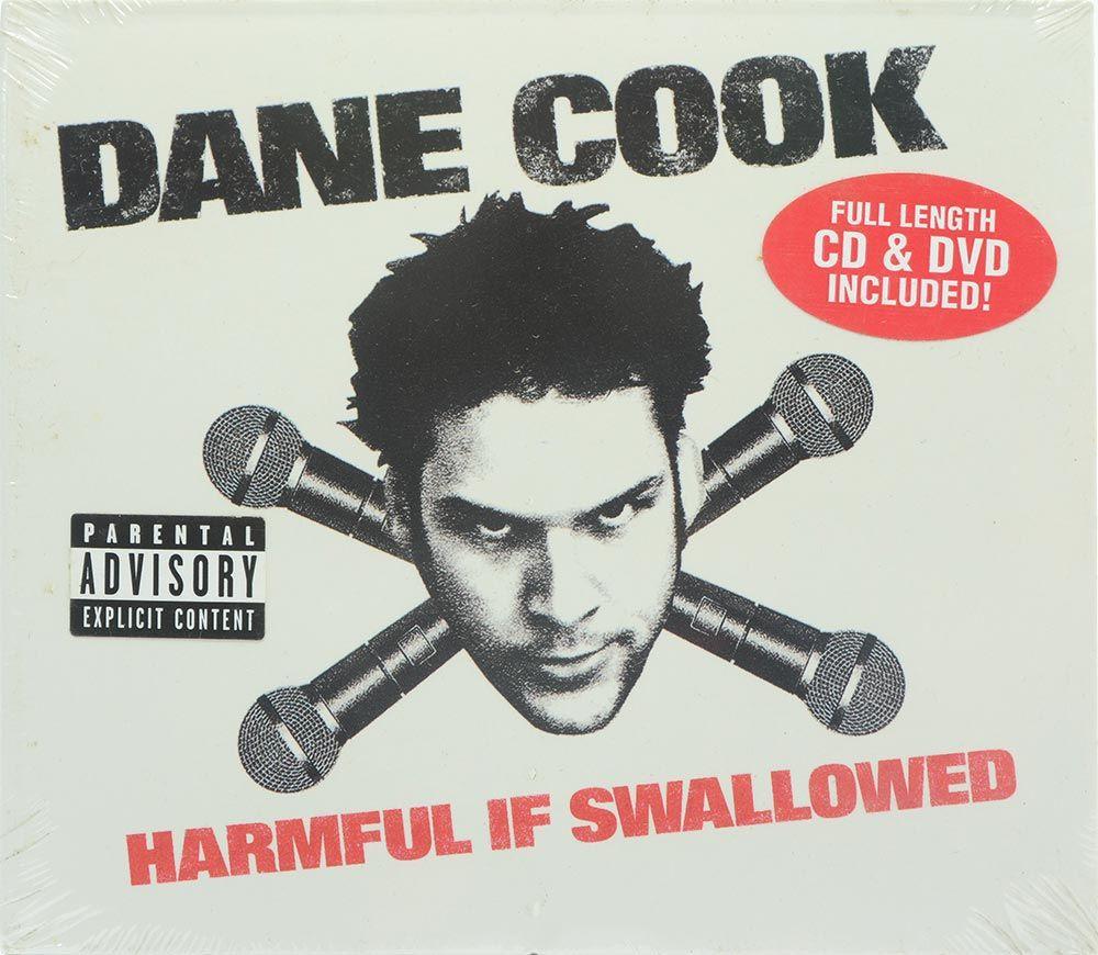 CD/DVD Dane Cook - Harmful If Swallowed - Importado - Lacrado