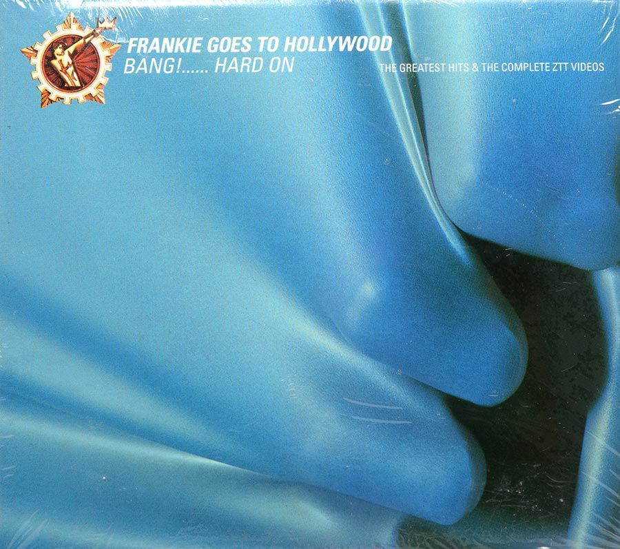 CD DVD Frankie Goes To Hollywood - Bang! Hard On - Lacrado - Importado