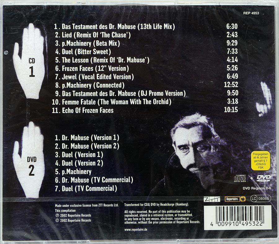 CD + DVD Propaganda - Outside World - Lacrado - Importado