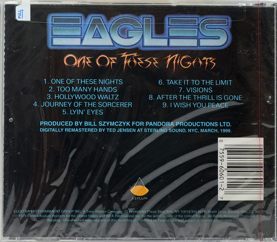 CD Eagles - One Of These Nights - Importado - Lacrado