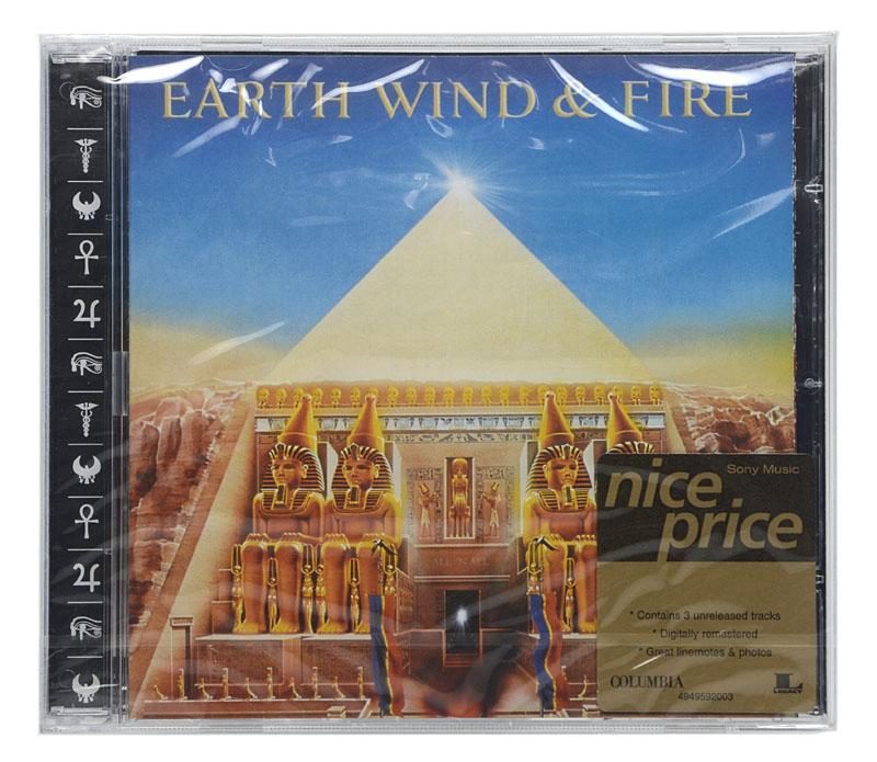 CD Earth Wind & Fire - All N All - Importado - Lacrado