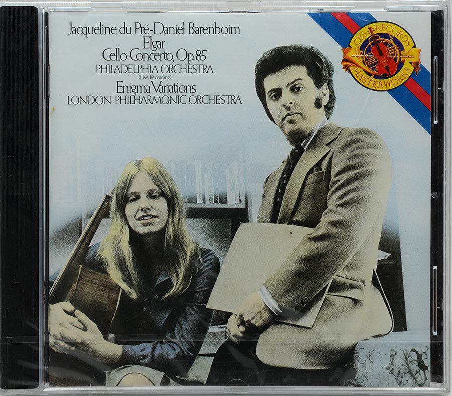 CD Elgar: Cello / Enigma Du Pré / Barenboim - Lacrado - Importado