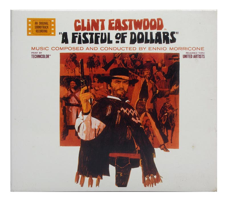 CD Ennio Morricone - A Fistful Of Dollars - Original Soundtrack - Importado Digipack - Lacrado