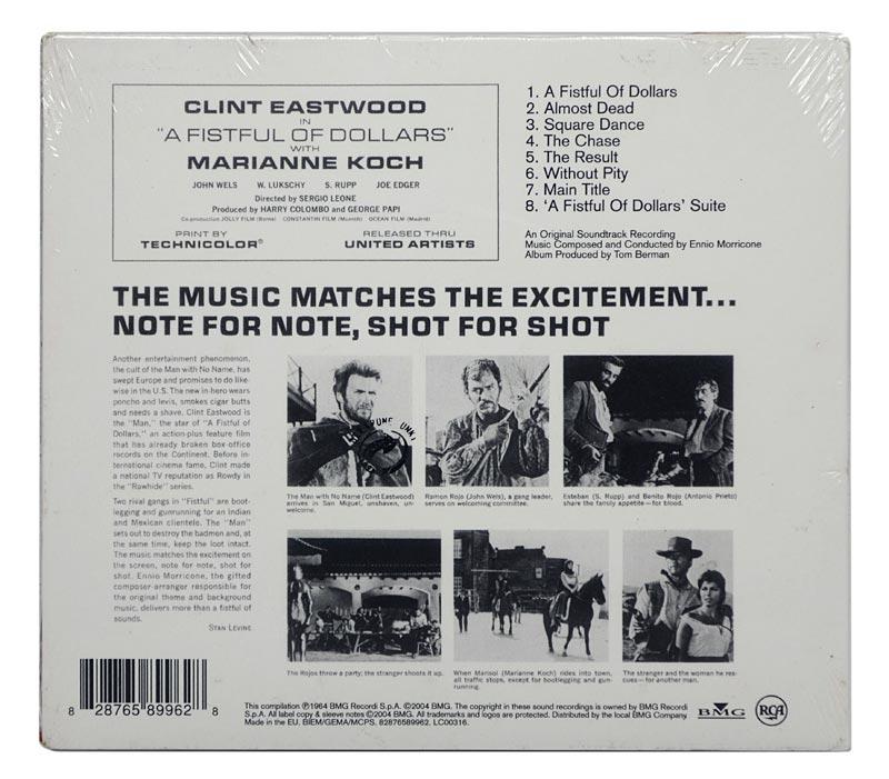 CD Ennio Morricone - A Fistful Of Dollars - Original Soundtrack - Importado Digipack - Lacrado