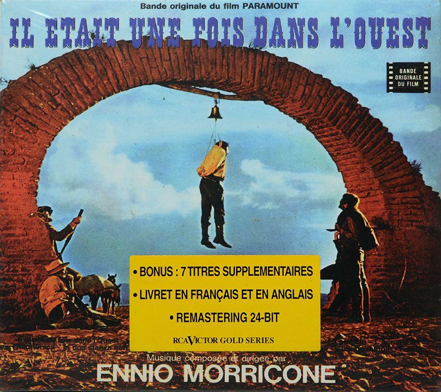 CD Ennio Morricone - Il Etait Une Fois Dans Louest - Lacrado - Importado