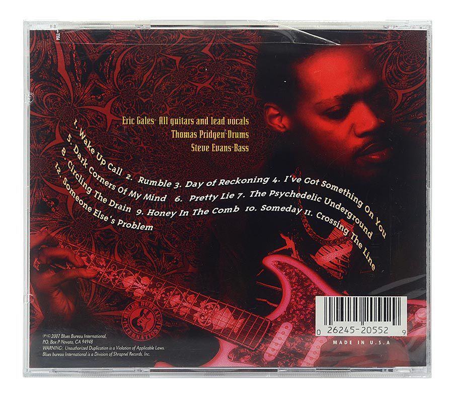 CD Eric Gales - The Psychedelic Underground - Importado - Lacrado