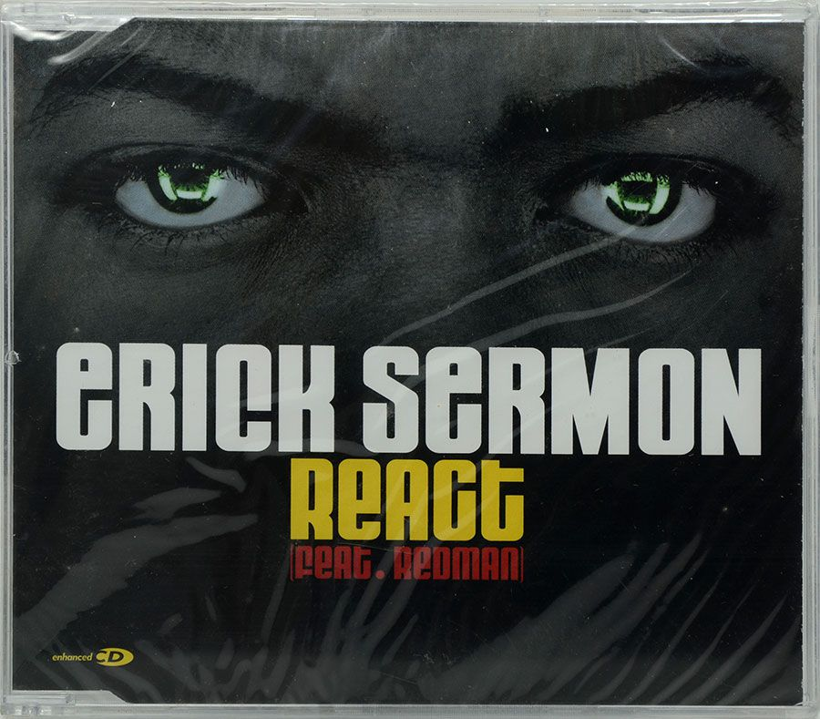 CD Erick Sermon - React Feat Redman - Lacrado - Importado