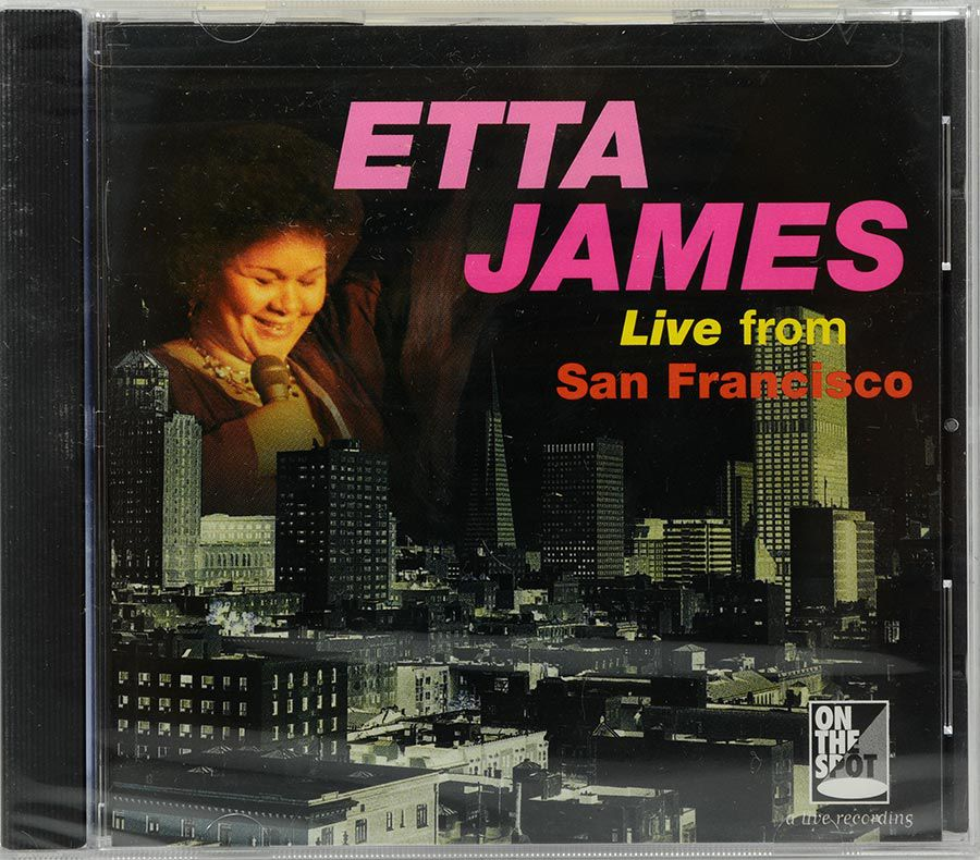 CD Etta James - Live From San Francisco - Lacrado - Importado