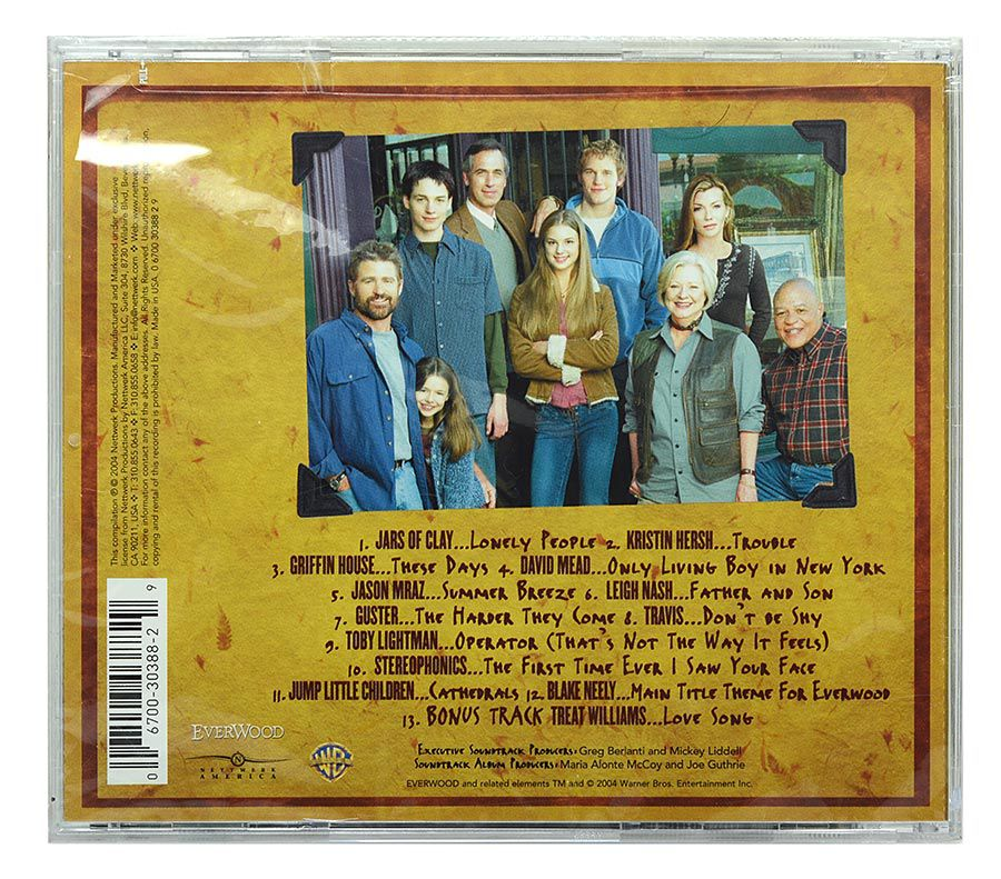 CD Everwood - Original Soundtrack - Importado - Lacrado