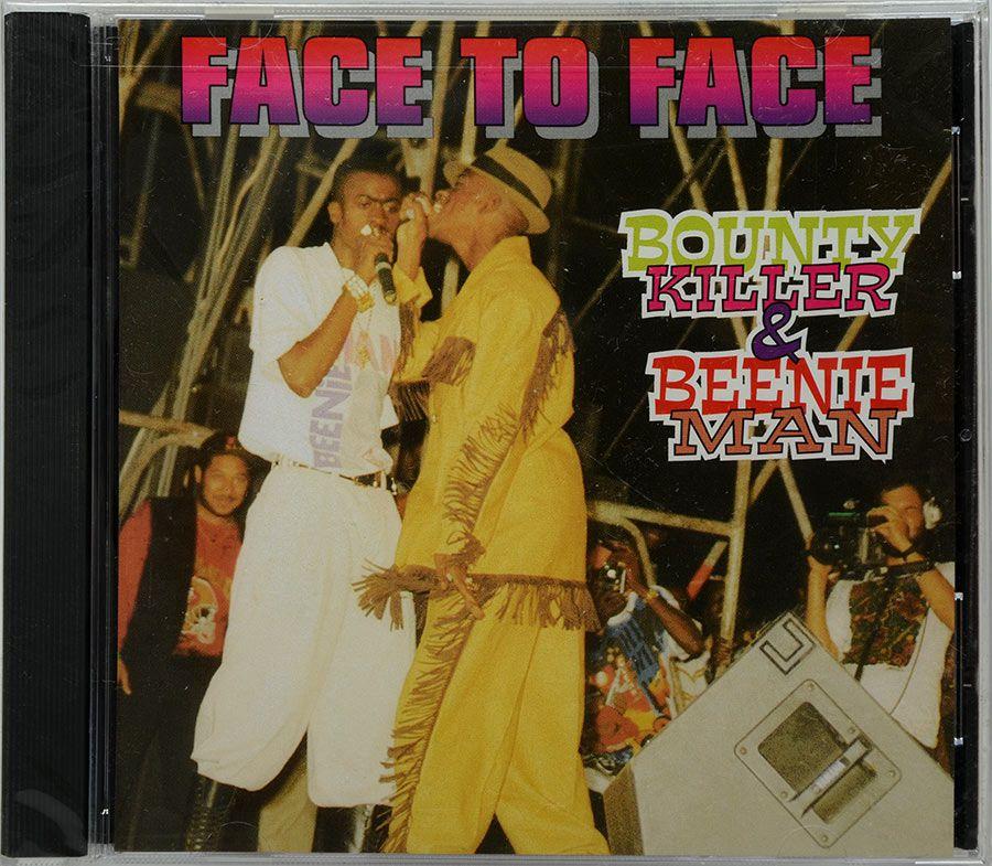 CD Face To Face - Bounty Killer & Beenie Man - Lacrado - Importado