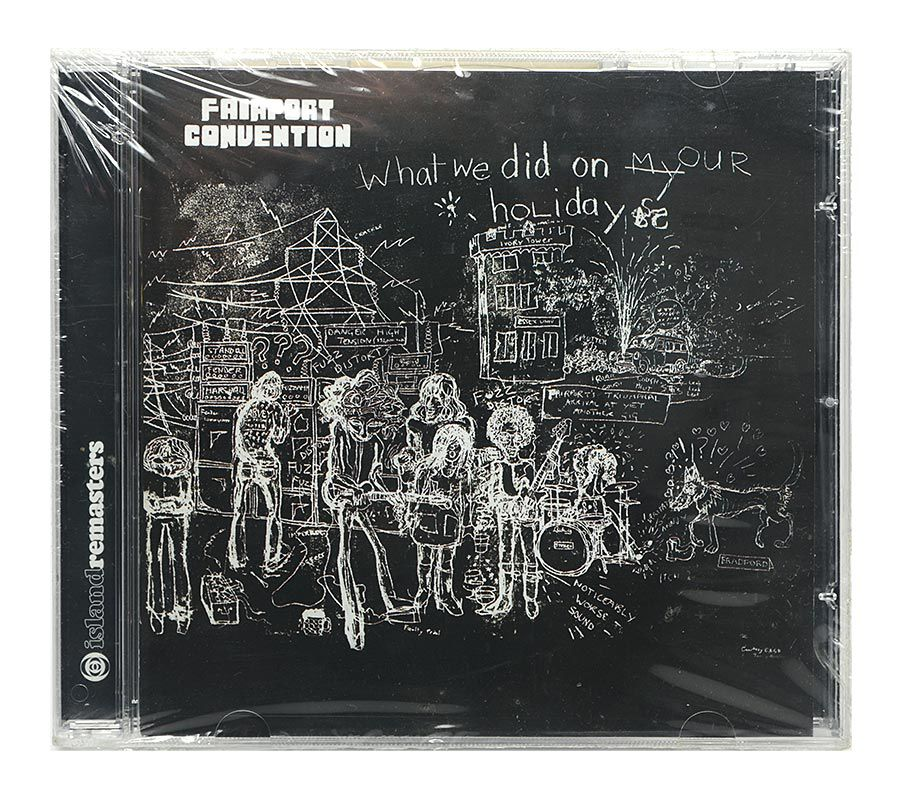 Cd FairPort Convention - What We Did On Our Holidays - Importado - Lacrado