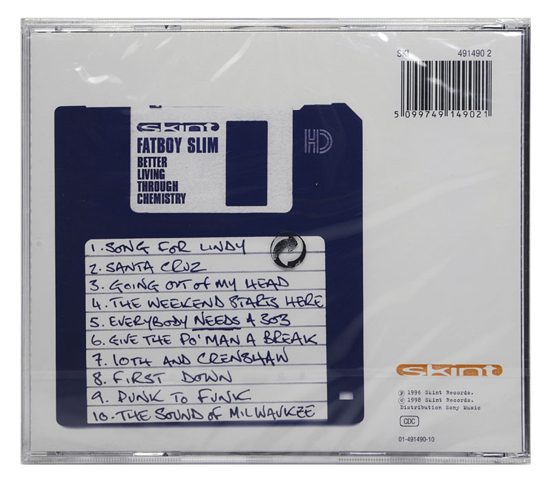 CD Fatboy Slim - Better Living Through Chemistry - Importado - Lacrado