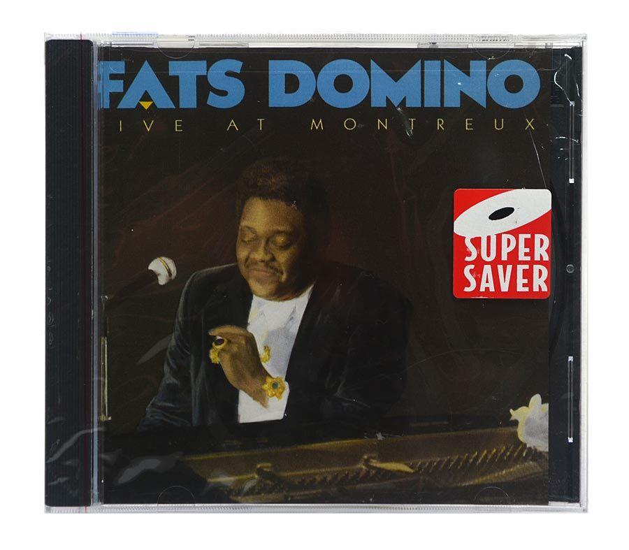 Cd Fats Domino - Live At Montreux - Importado - Lacrado