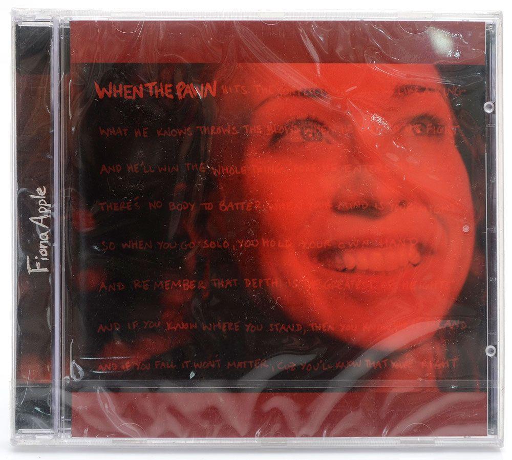 CD Fiona Apple - When The Pawn - Importado - Lacrado