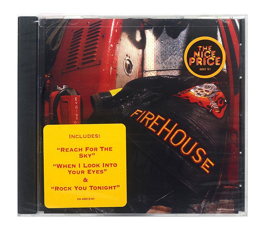 CD Firehouse - Hold Your Fire - Importado - Lacrado