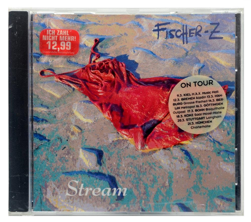 CD Fischer-Z - Stream - Importado Alemanha - Lacrado