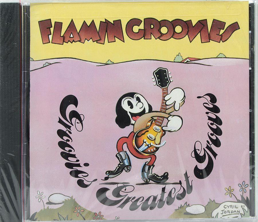 Cd Flamin Groovies - Groovies Greatest Groovies - Lacrado - Importado