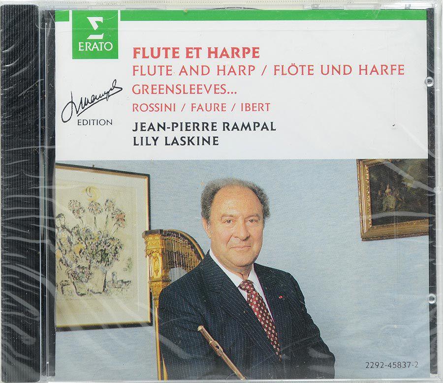 Cd Flute & Harp - Jean Pierre Rampal - Laskine - Lacrado - Importado