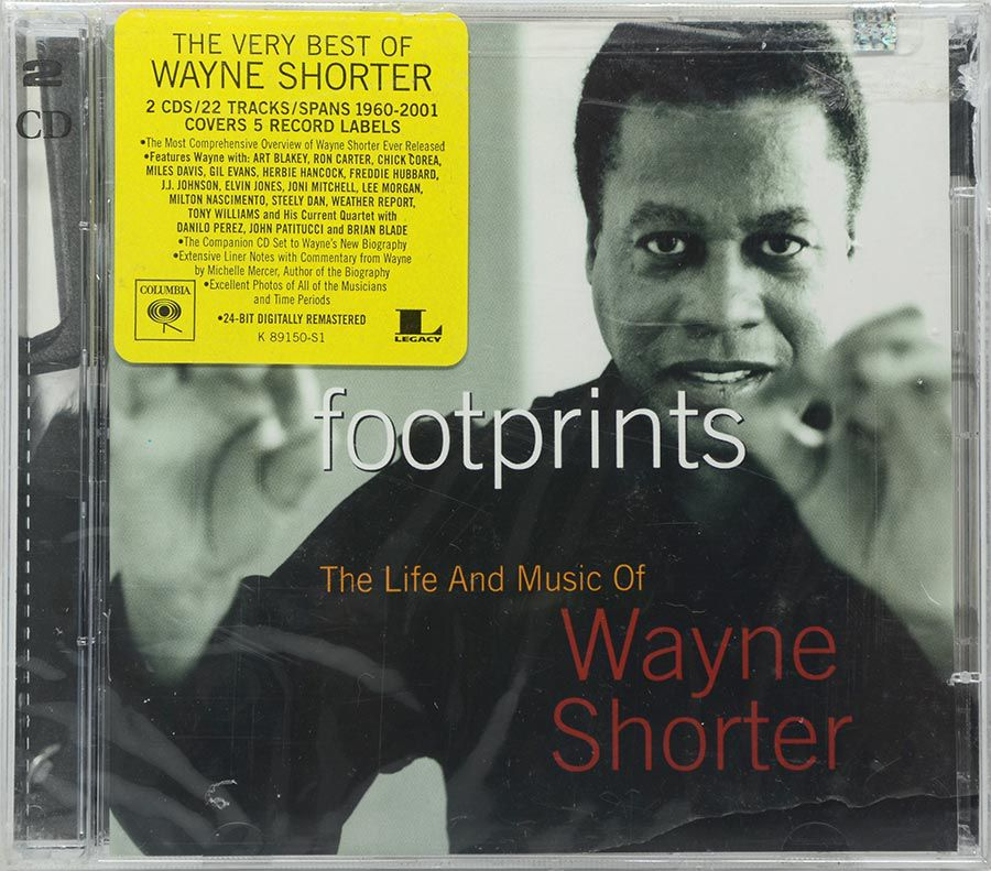 CD Footprints: The Life And Music Of Wayne Shorter - Lacrado - Importado