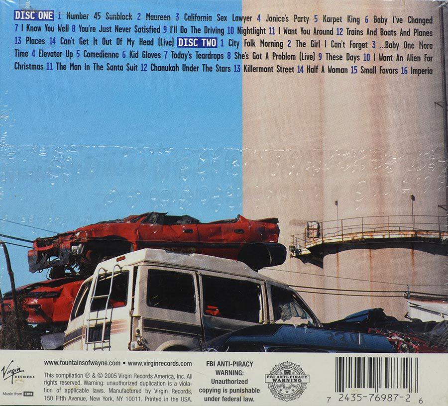 CD Duplo Fountains Of Wayne - Out-Of-State Plates - Lacrado - Importado