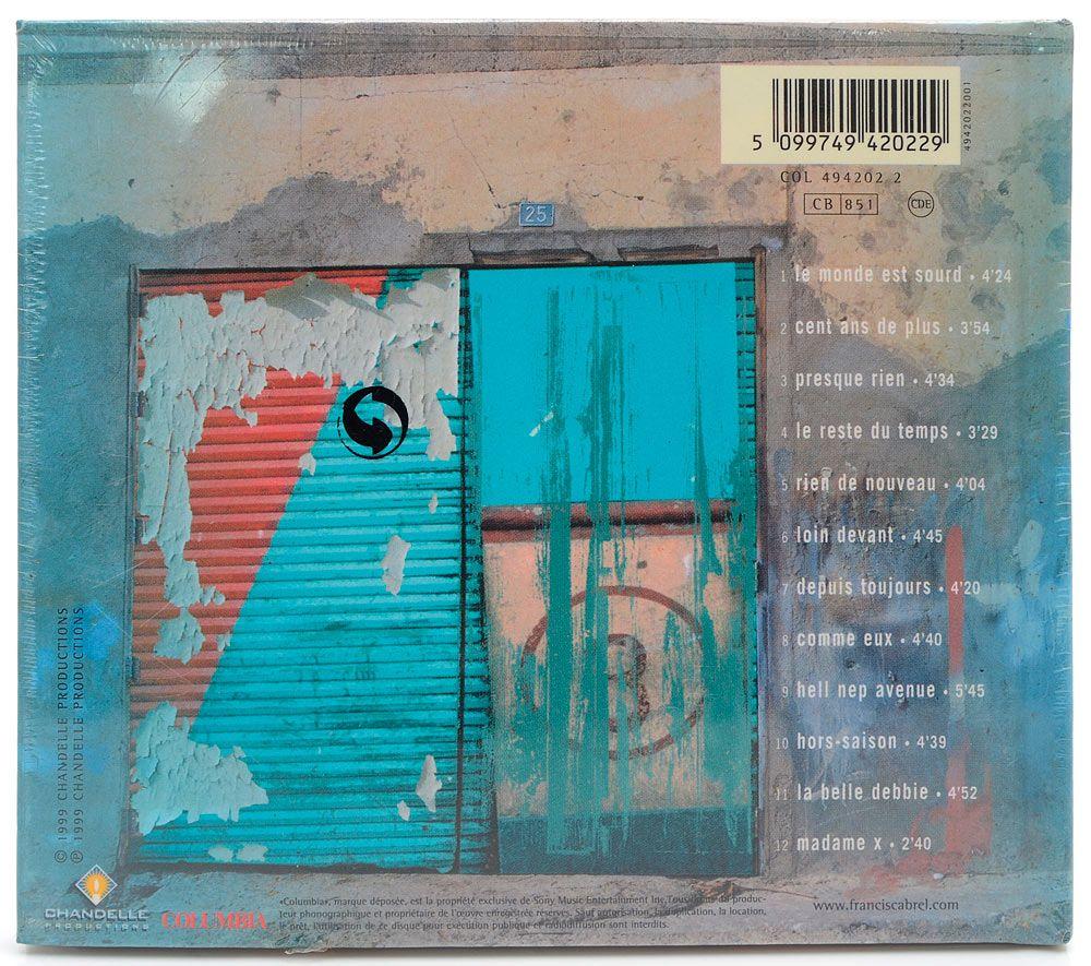 CD Francis Cabrel - Hors-Saison - Importado - Lacrado