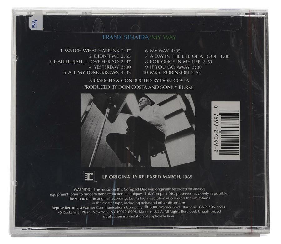Cd Frank Sinatra - My Way - Importado - Lacrado