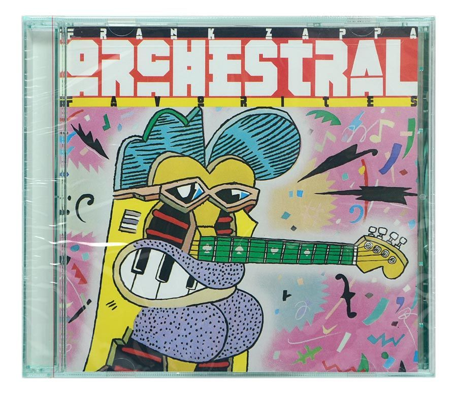 CD Frank Zappa - Orchestral Favorites - Importado Canada - Lacrado