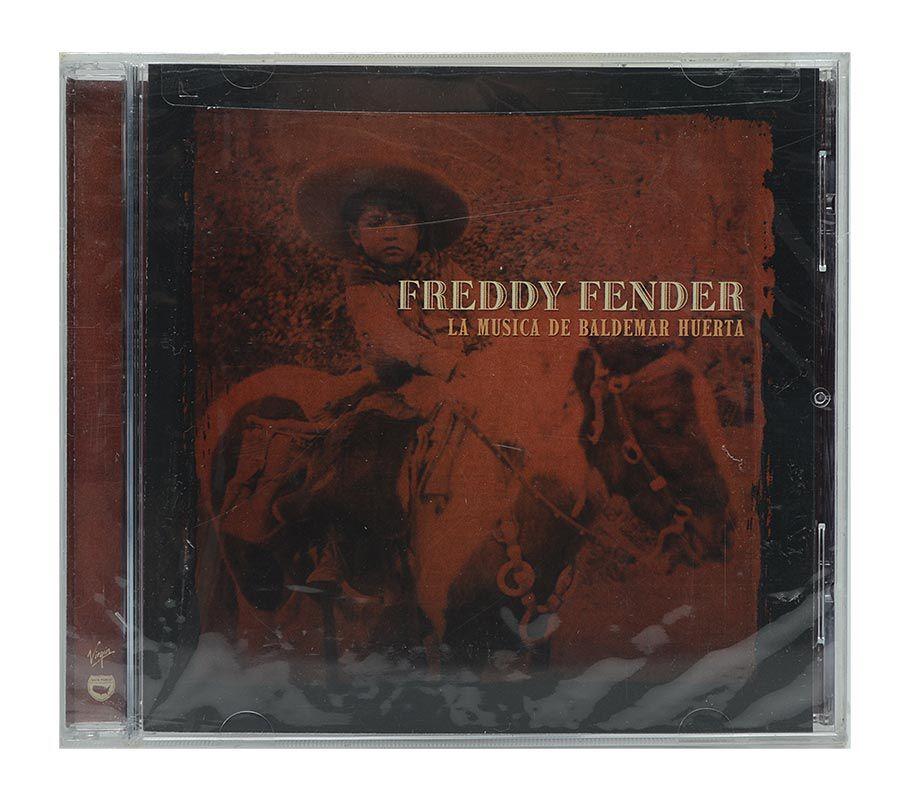 CD Freddy Fender - La Musica De Baldemar Huerta - Importado - Lacrado