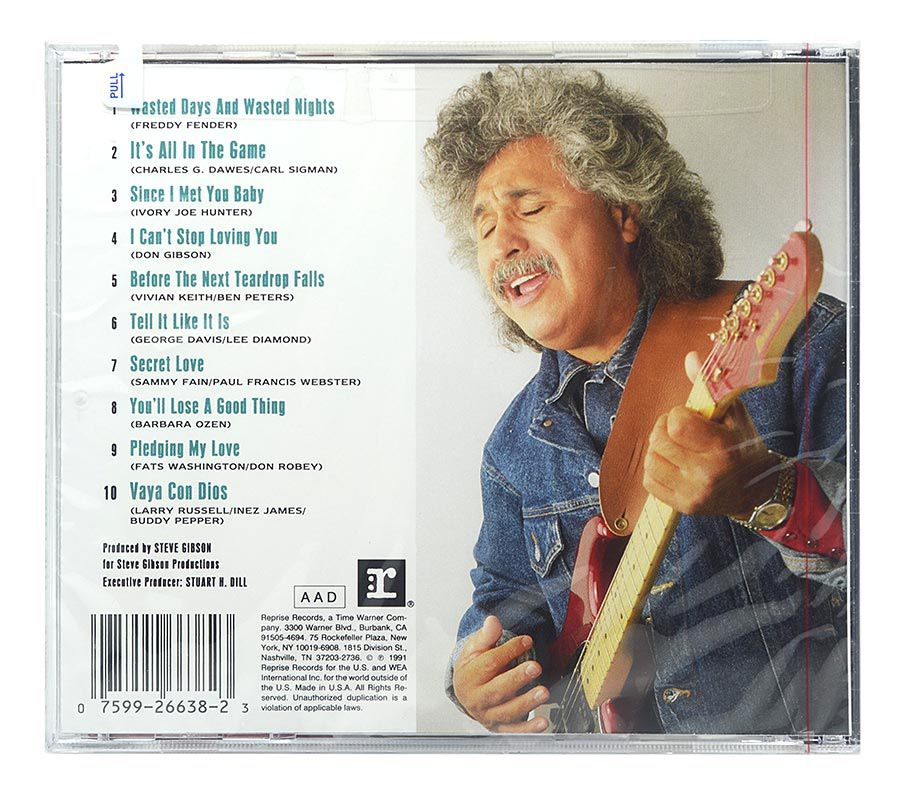 CD Freddy Fender - The Freddy Fender Collection - Importado - Lacrado