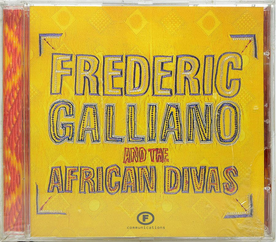 CD Frederic Galliano And The African Divas - Lacrado - Importado
