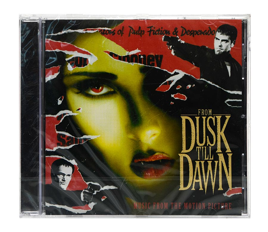 CD From Dusk Till Dawn - Original Soundtrack - Importado - Lacrado