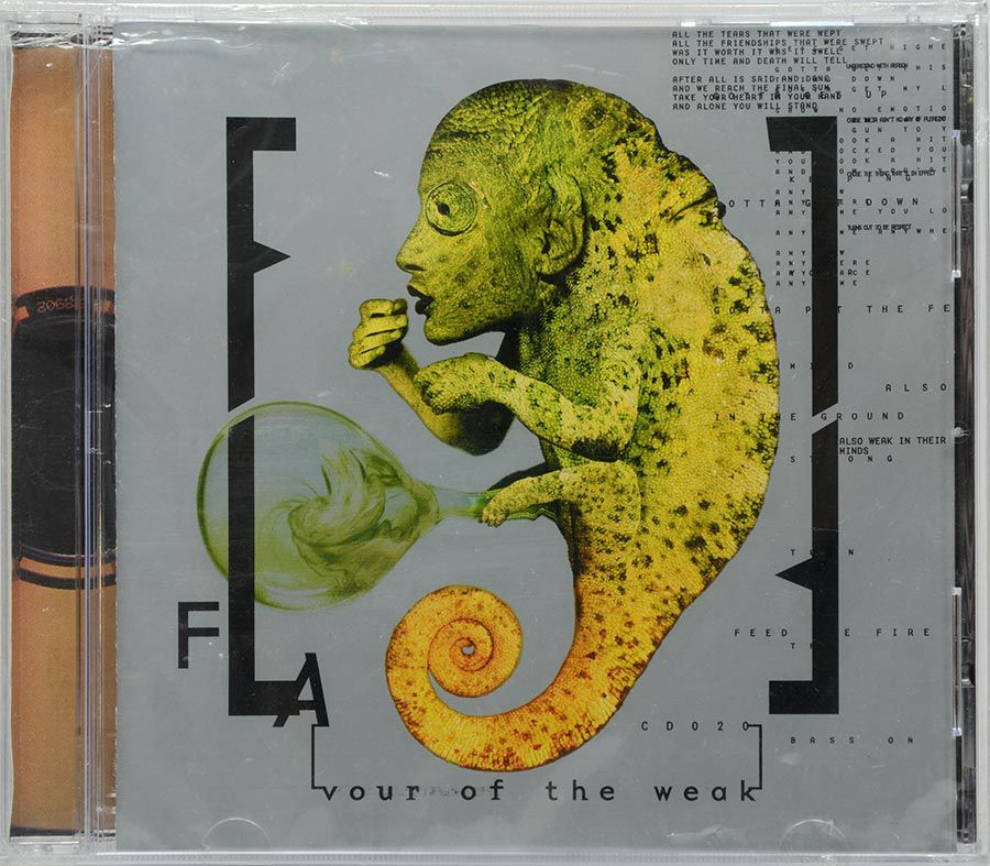 CD Front Line Assembly - Flavour Of The Weak - Lacrado - Importado
