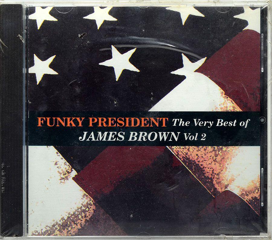 CD Funky President - The Very Best Of James Brown Vol.2 - Lacrado - Importado