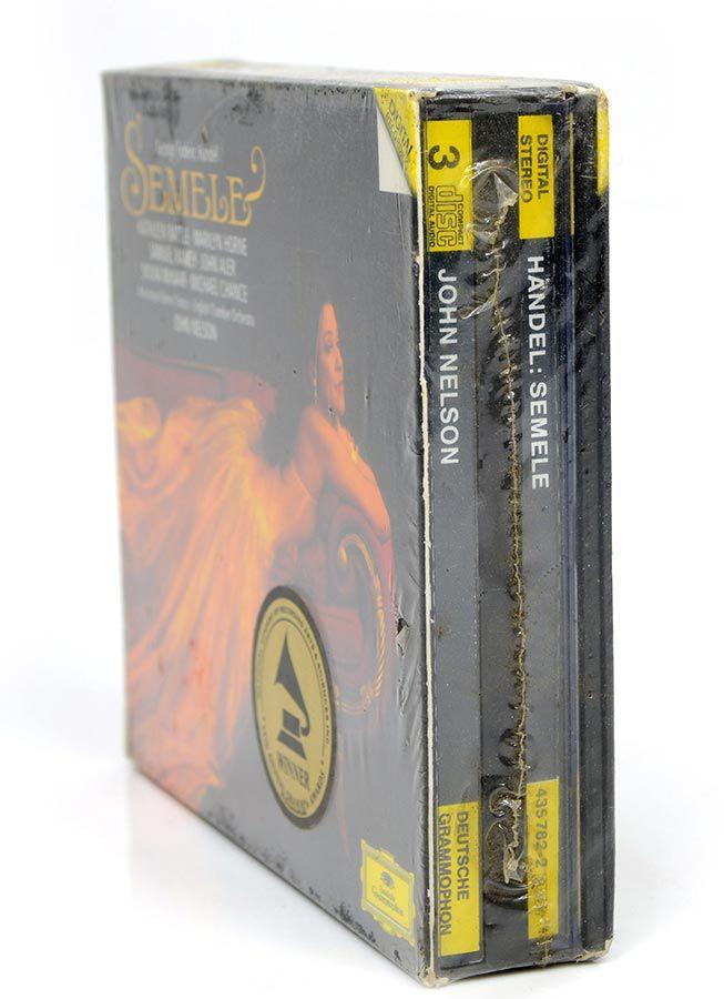 CD G. F. Handel Semele - Kathleen Battle - Marilyn Horne - Lacrado - Importado