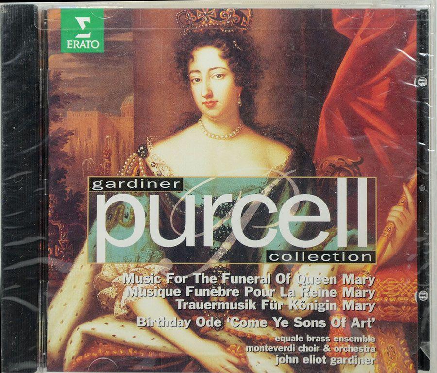 CD Gardiner Purcell - Music For Queen Mary - Lacrado - Importado
