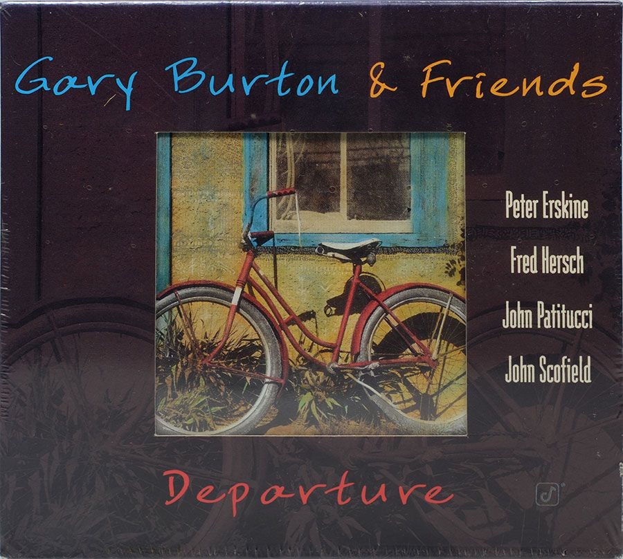 CD Gary Burton & Friends - Departure - Lacrado - Importado