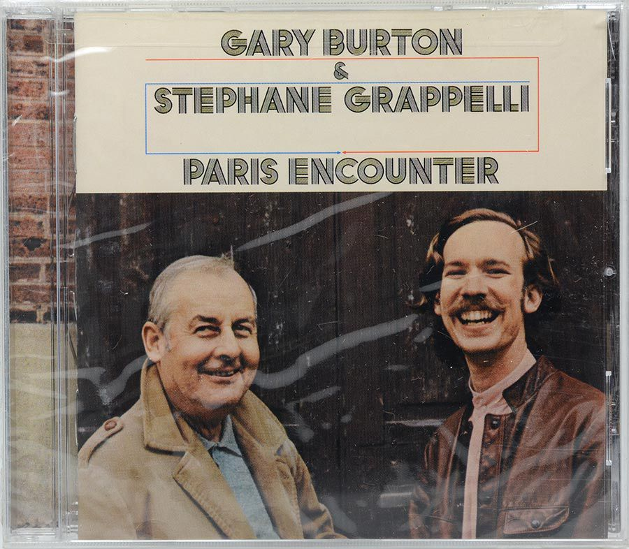 Cd Gary Burton & Stephane Grappelli - Paris Encounter - Lacrado - Importado