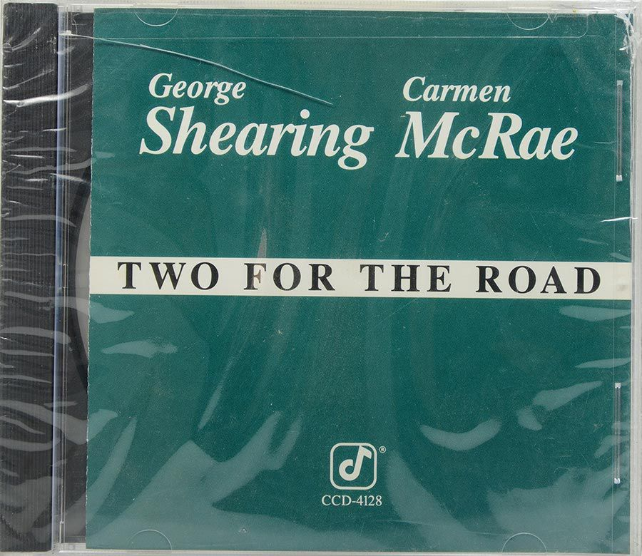 CD George Shearing - Carmen Mcrae - Two For The Road - Lacrado - Importado