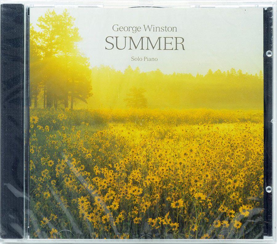 CD George Winston - Summer Solo Piano - Lacrado - Importado