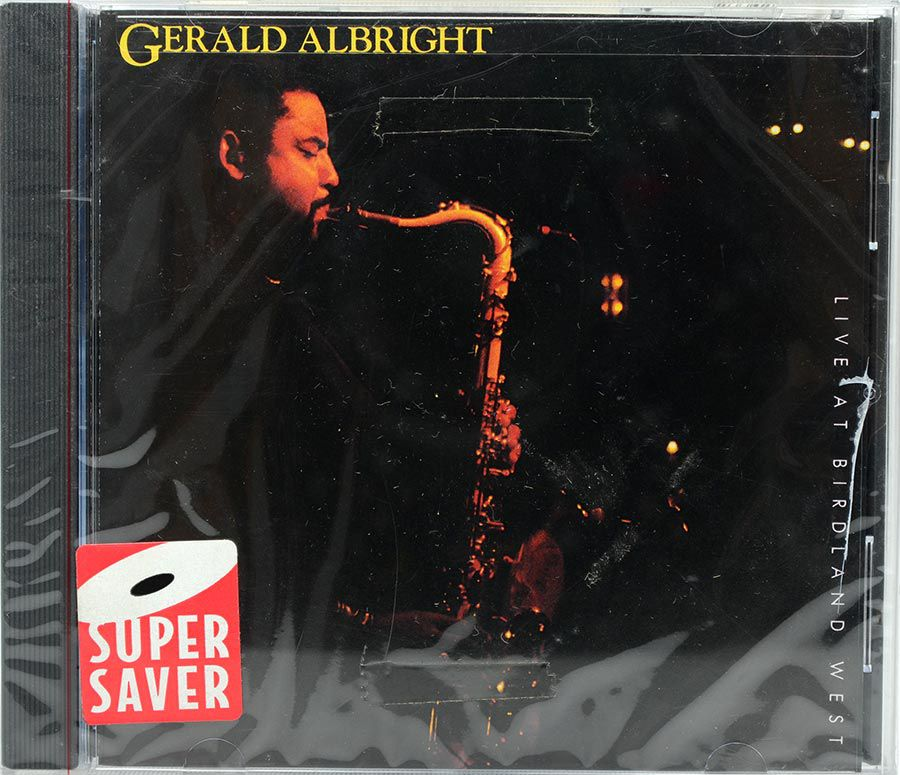 Cd Gerald Albright - Live At Birdland West - Lacrado - Importado