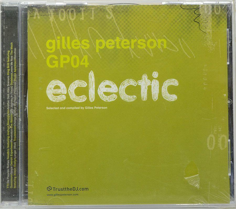 CD Gilles Peterson GP04 - Eclectic - Importado - Lacrado