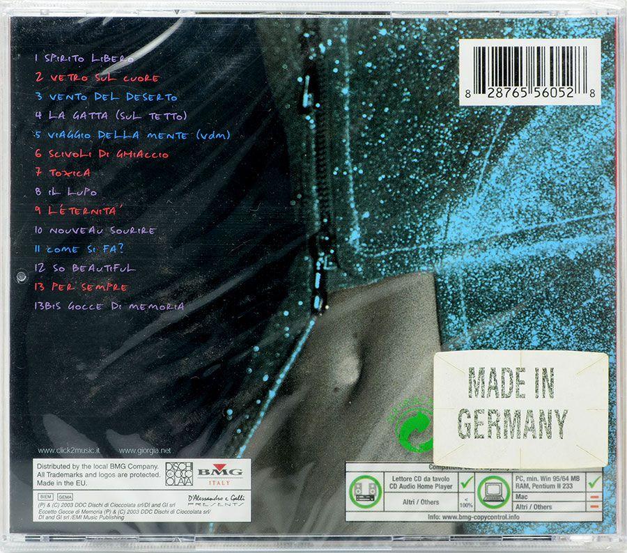 CD Giorgia - Ladra Di Vento - Lacrado - Importado