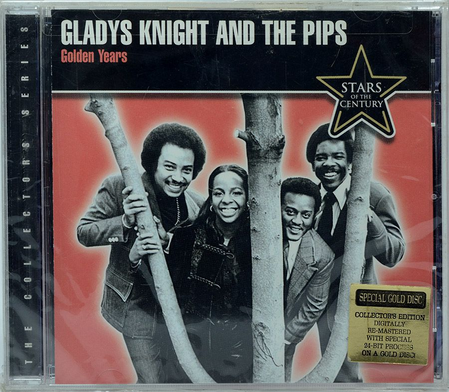 CD Gladys Knight And The Pips - Golden Years - Lacrado - Importado