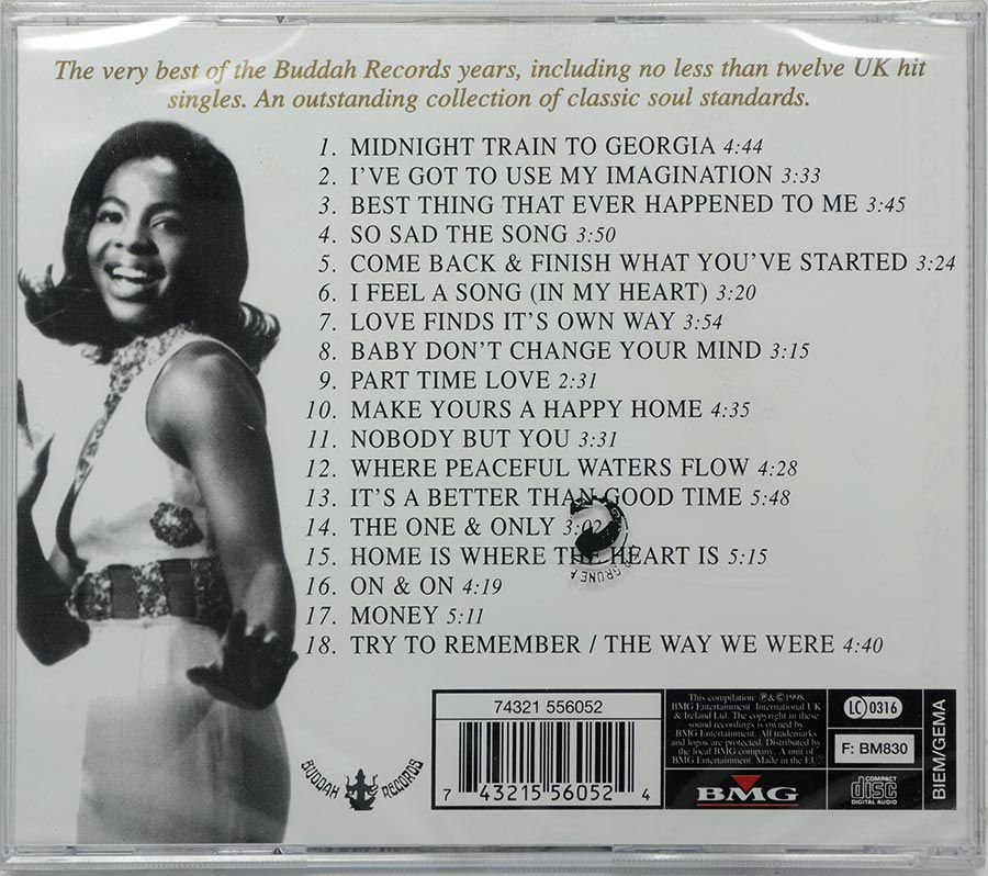 CD Gladys Knight - The Greatest Hits - Lacrado - Importado