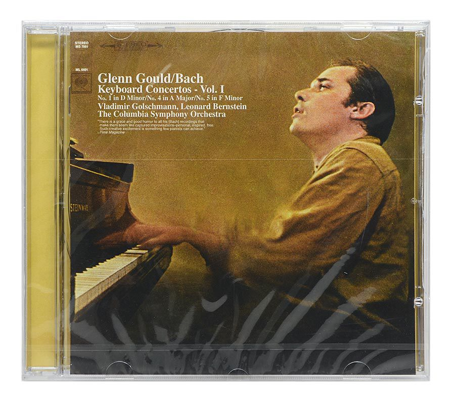 Cd Glenn Glould - Bach: Keyboard Concertos Vol. 1 - Importado - Lacrado