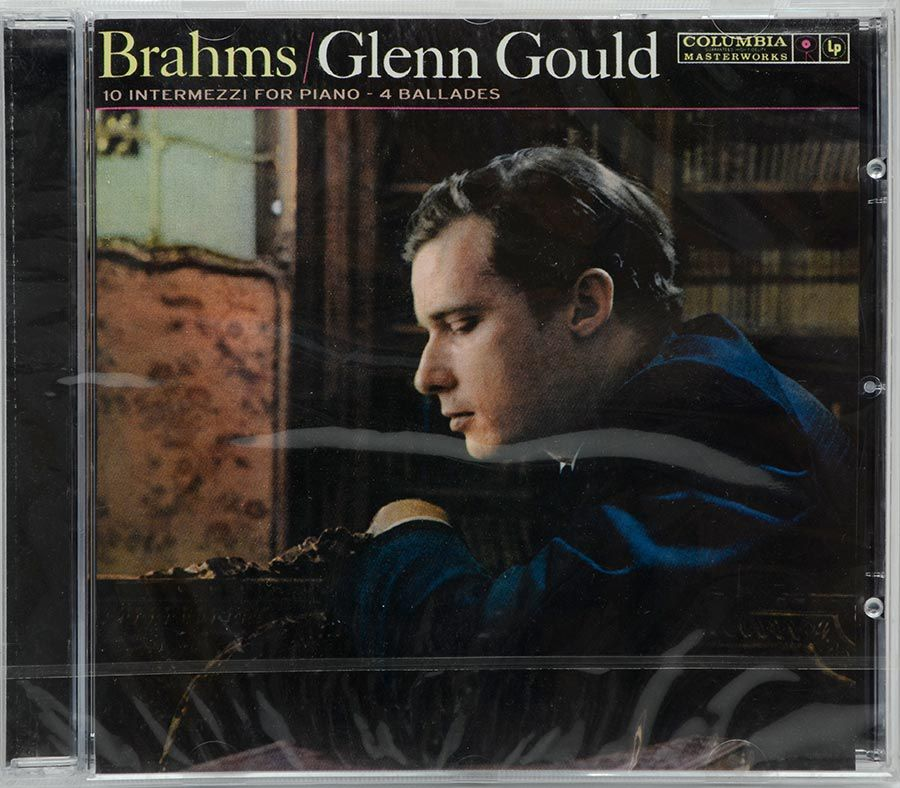 CD Glenn Gould - 4 Ballades Op 10 & 10 Intermezzi - Lacrado - Importado