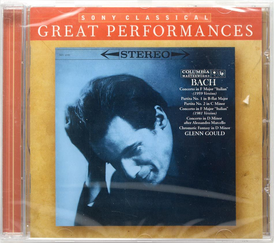 CD Glenn Gould - Bach Piano Works Great Performances - Lacrado - Importado