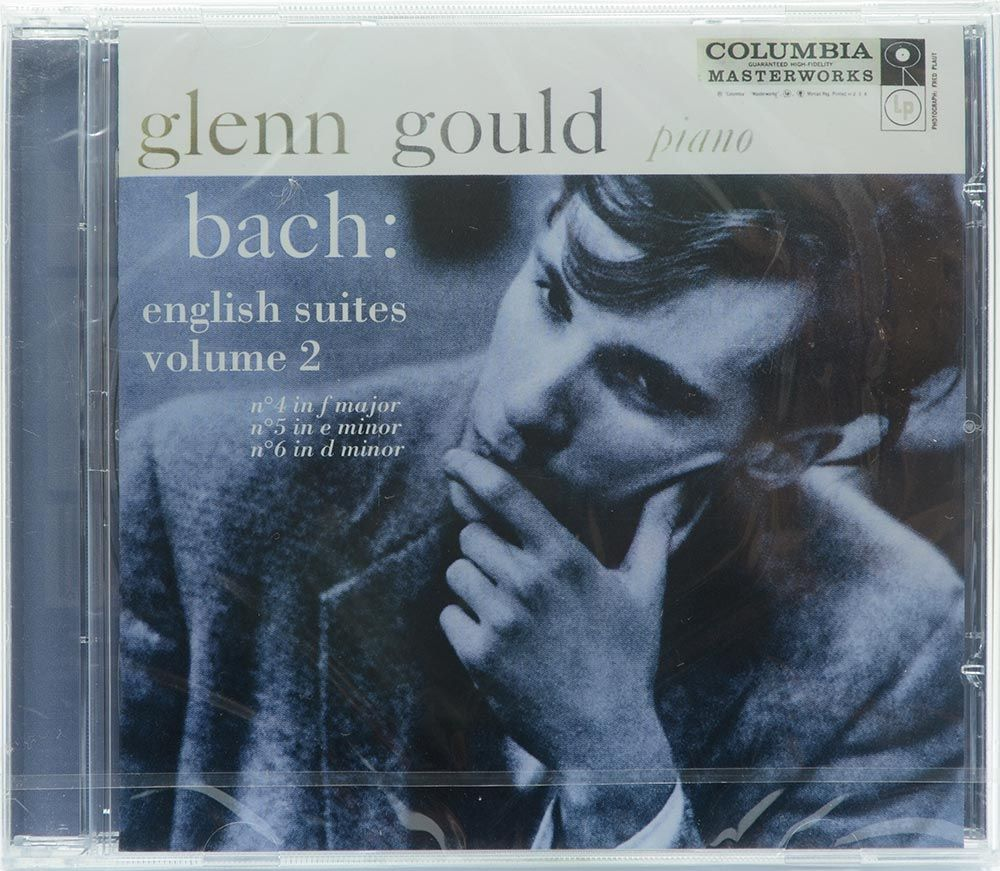 CD Glenn Gould - Bach: The English Suites - Vol.2 - Importado - Lacrado