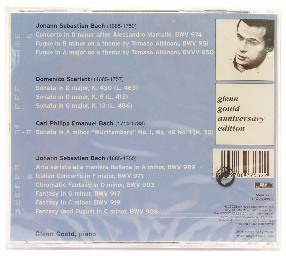 CD Glenn Gould - The Italian Album - Importado - Lacrado