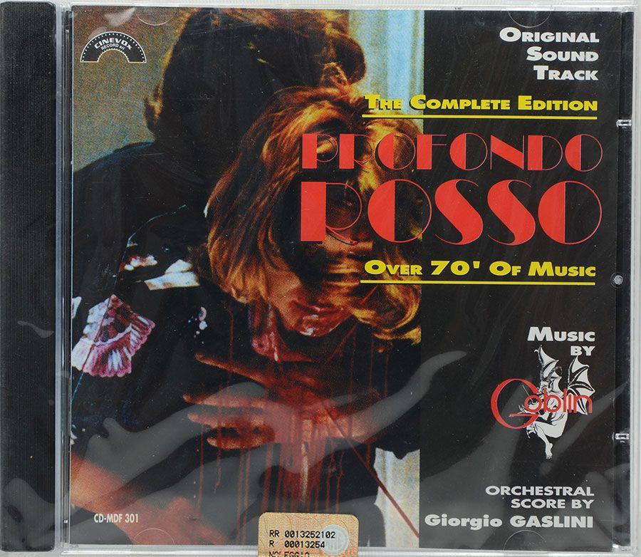 Cd Goblin Giorgio Gaslini - Profondo Rosso - Lacrado - Importado